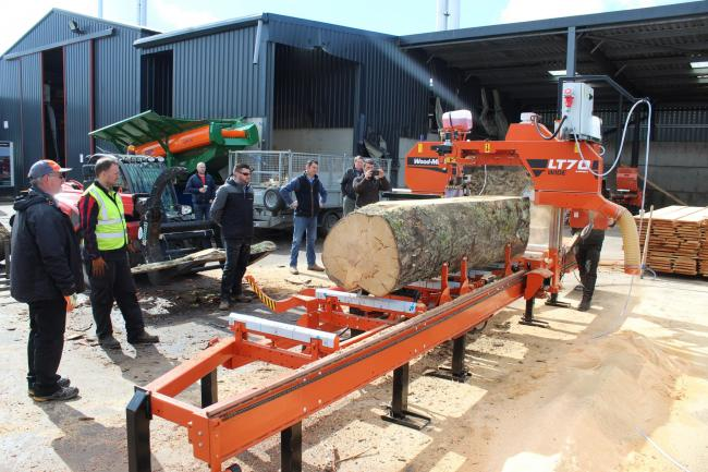 Wood-Mizer and Wilsons up close | Forestry Journal