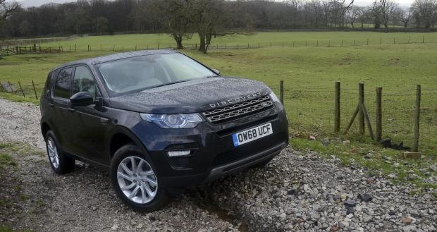 Forestry Journal: Land Rover Discovery Sport.