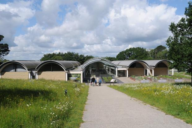 Forestry Journal: The Millennium Seed Bank building.