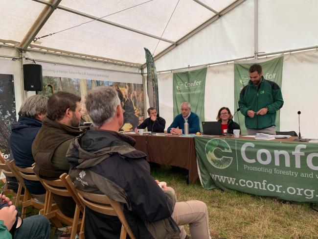 Confor Woodland Show: Less talk, more action