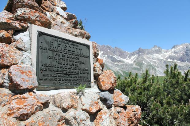 Forestry Journal: The monument to Captain Scott and his team was erected in 1913 by members of the French Antarctic Expeditions that had failed to reach the Pole in 1904 and 1909.