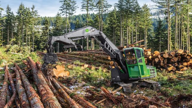 New forestry swing machine options from John Deere