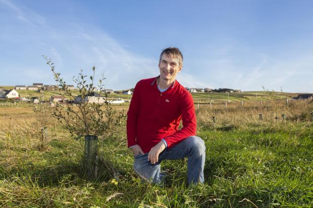 Forestry Journal: Roddy Read planted 1,000 trees on his croft in Aignish under the MOREwoods scheme.