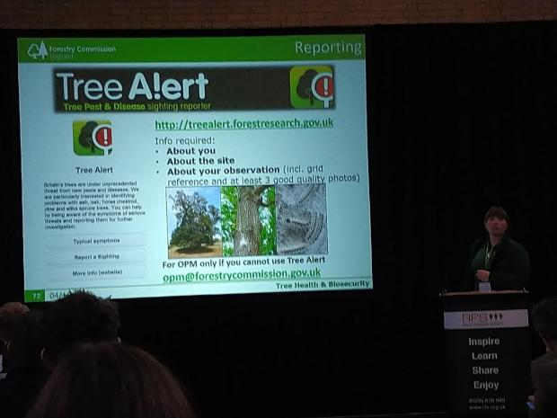 Forestry Journal: Report pests and diseases on TreeAlert, urges Becki Gawthorpe.