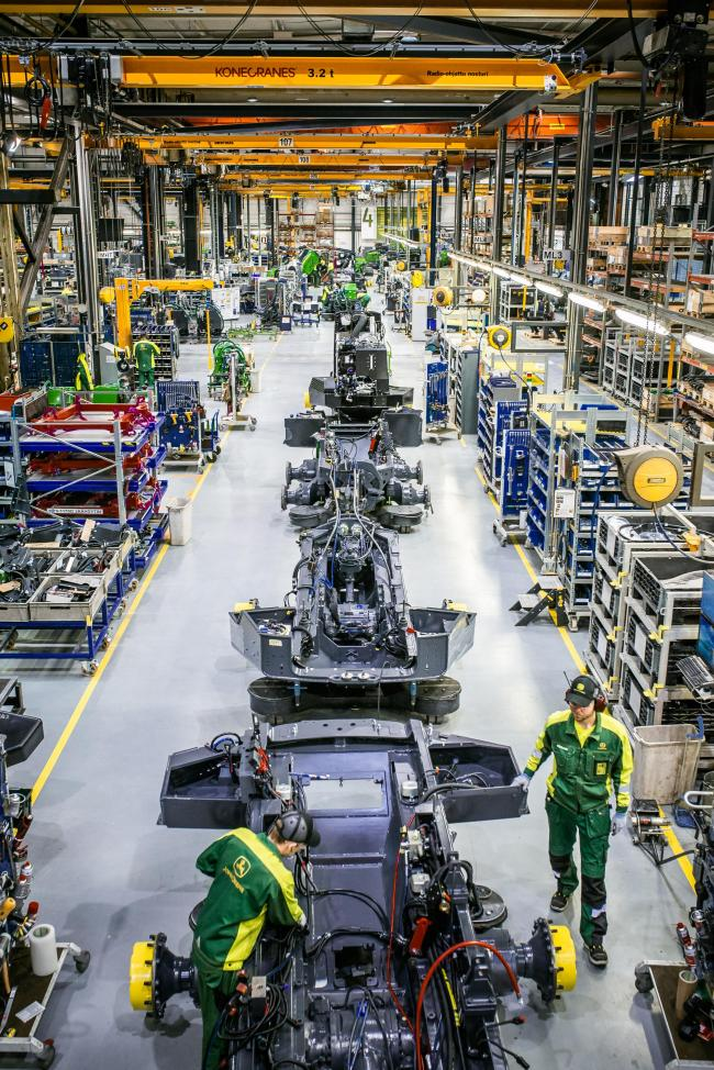 John Deere invests in expansion of Finnish factory