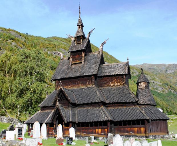 Forestry Journal: Stave churches are Norway's unique contribution to world heritage. Most were constructed circa 1130–1350. Similar churches are known to have existed elsewhere in Europe but only the Norwegian places of worship have survived the ravages of time. Records suggest some thousand stave churches once graced Norway's countryside, but that at Borgund is one of the few left.