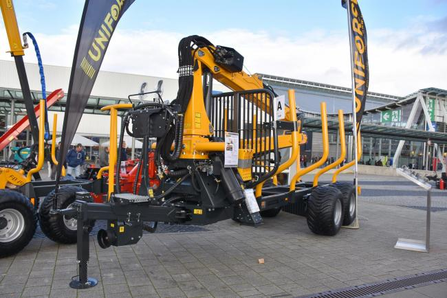 Forestry machinery takes the stage at Agritechnica