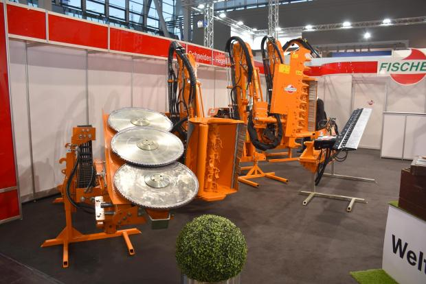 Forestry Journal: Fischer equipment on stand.