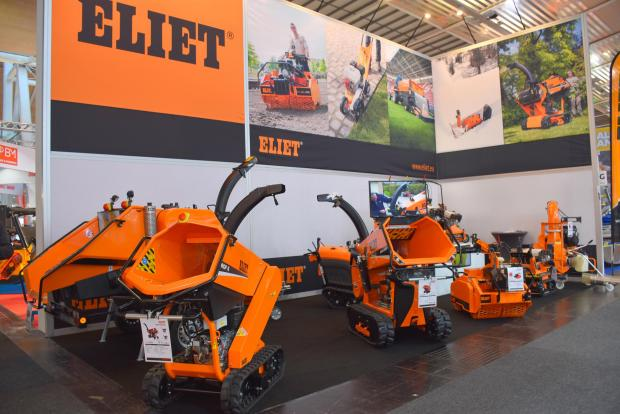 Forestry Journal: Mini mulchers and shredders on the Eliet stand.