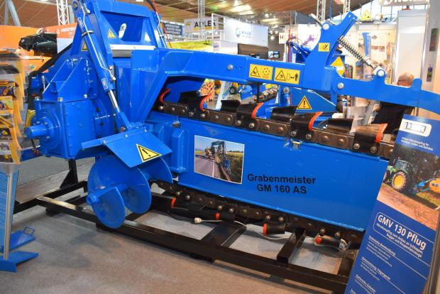 Forestry Journal: Grabenmeister GM160 AS trencher.