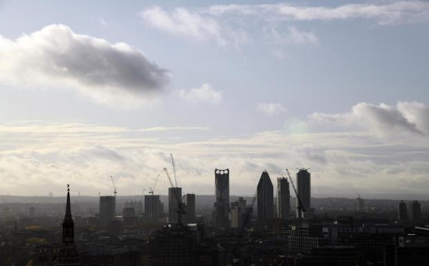 Forestry Journal: At the end of the launch, panoramic views offered from the 17th floor of BNP Paribas' London offices, of gunmetal grey clouds lashing rain across the city rooftops.