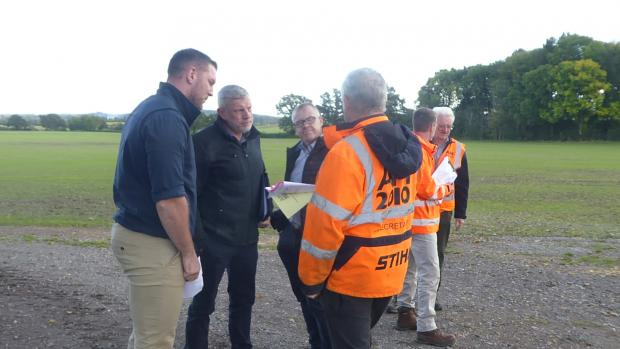 Forestry Journal: Site meetings are an important component of the APF booking process.