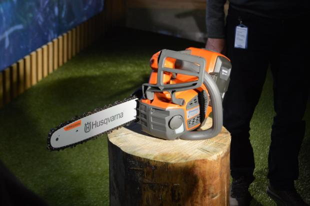Forestry Journal: The top-handle T540i XP chainsaw.