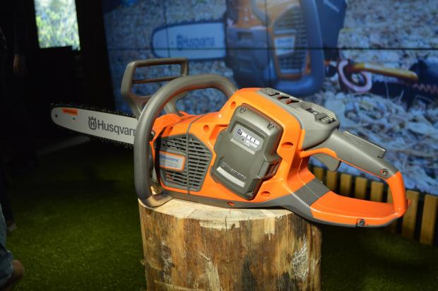 Forestry Journal: The rear-handle 540i XP chainsaw.