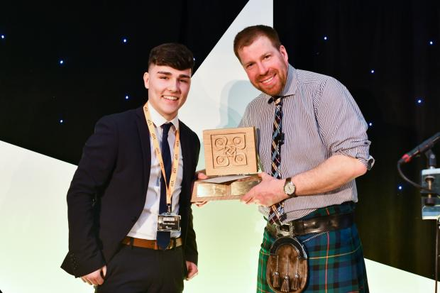 Forestry Journal: Euan was nominated for Lantra Scotland's ALBAS and won the trees and timber category at the final back in March.