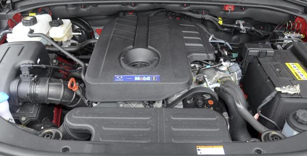 Forestry Journal: The 2.2-litre diesel develops more than sufficient power.