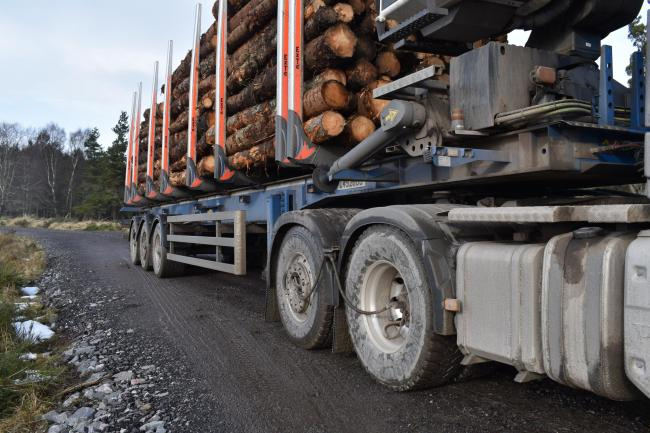 ScotGov awards £7 million for timber transport projects