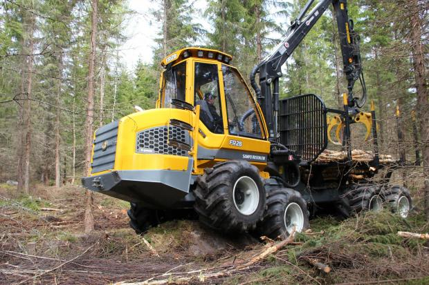Forestry Journal: The FR28 forwarder from Sampo.