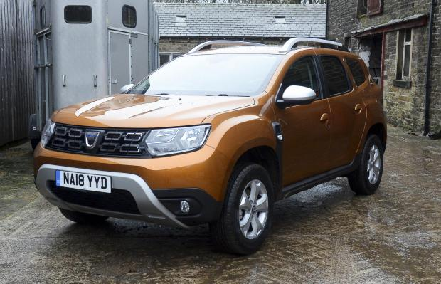 Forestry Journal: Dacia Duster.