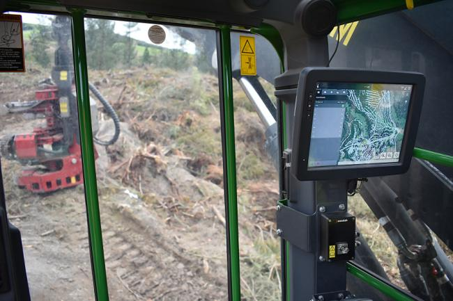 Waratah enhances control system with new mapping feature