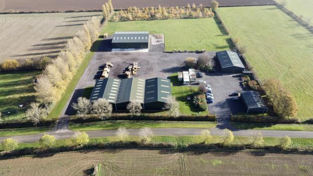 Forestry Journal: British Hardwood Tree Nursery's head office and warehouse premises.