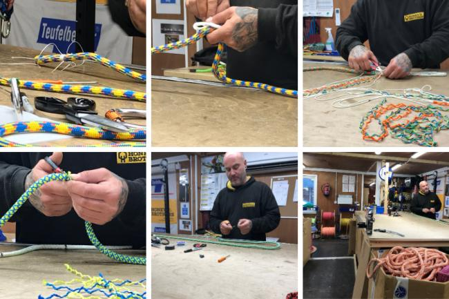 Honey Brothers shares the secrets of rope splicing