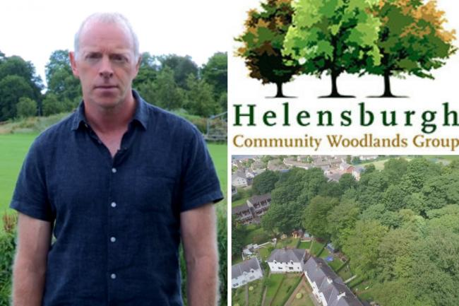 Andy Donald is the convener of Helensburgh Community Woodlands Group (HCWG), which purchased the Castle Woods late last year.