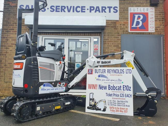 Dealer to raffle off Bobcat machine for charity