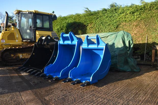 Forestry Journal: New-build digger buckets.