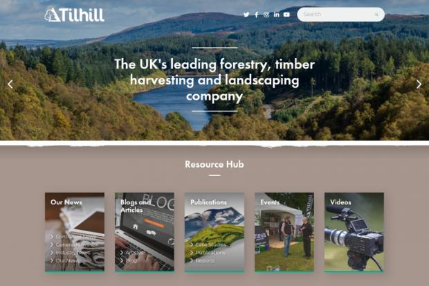 Tilhill launches new website